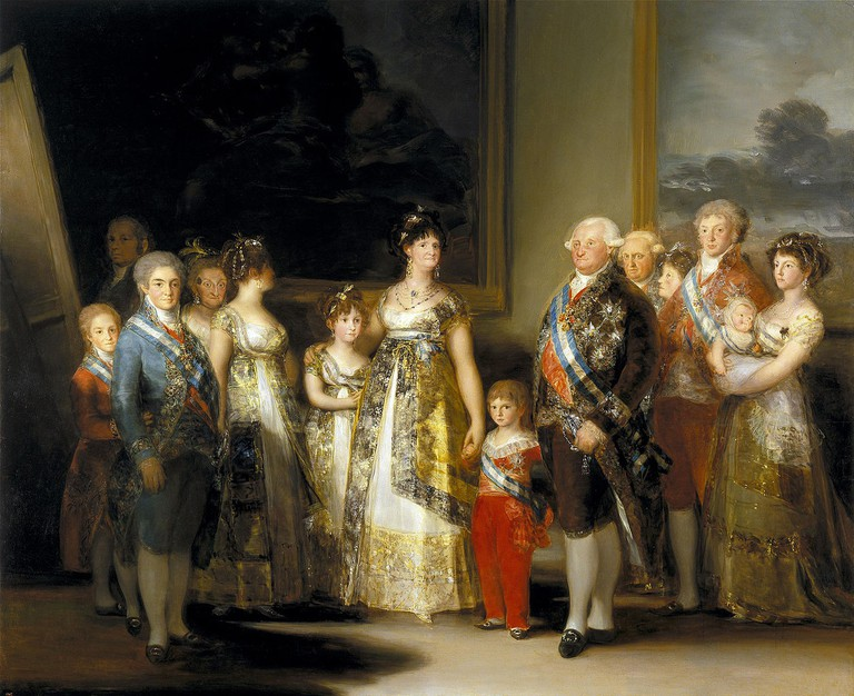 Francisco Goya, The Family of Carlos IV, 280 x 336 cm, 1800, Museo del Prado | © Lomita/WikiCommons1