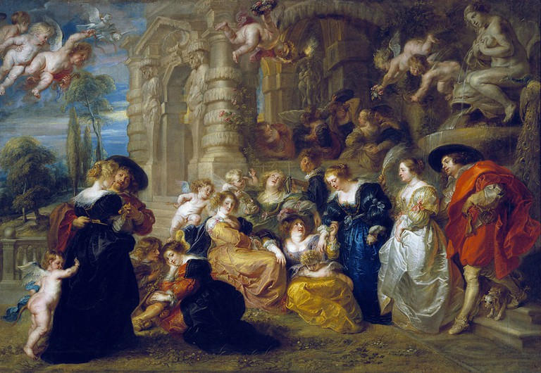 Peter Paul Rubens, The Garden of Love, 199 x 286 cm, Museo del Prado, C. 1630-1635 | © Jan Arkessteijn/WikiCommons