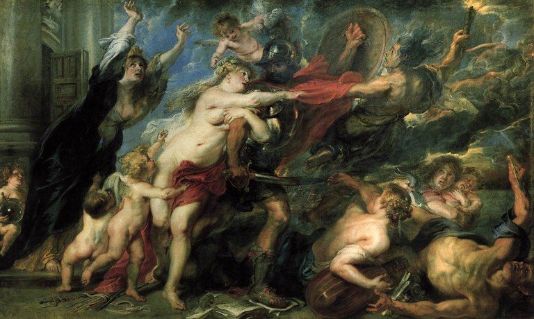 Peter Paul Rubens, The Horrors of War, 206 x 342 cm, Palazzo Pitti, c. 1637-1638 | © Riuk/WikiCommons