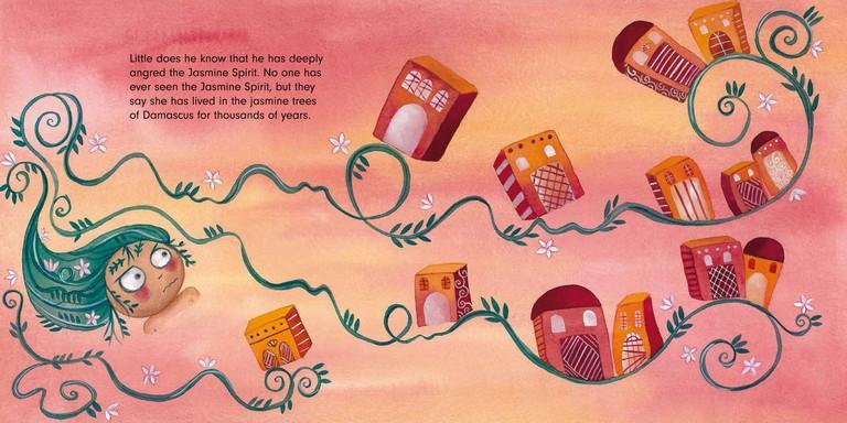 Illustration, The Jasmine Sneeze