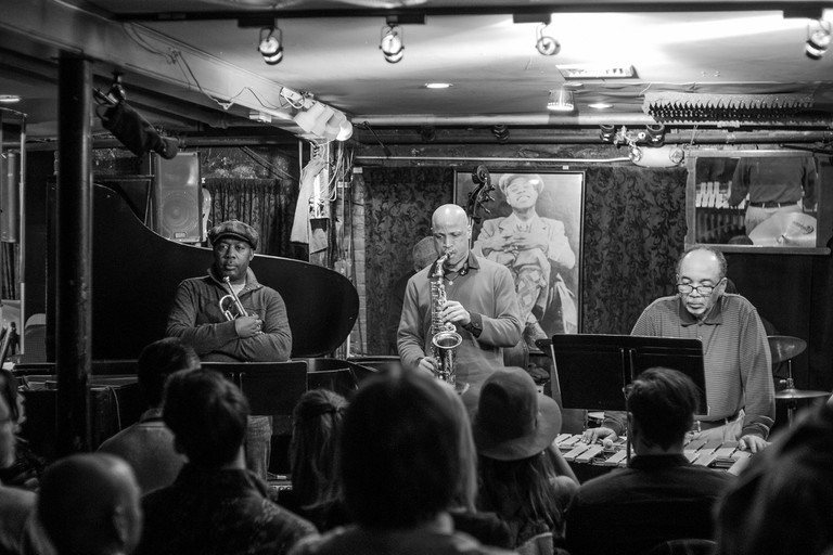 The Landham Brothers at Smalls Jazz Club by C.K. Tse, Courtesy of Flickr