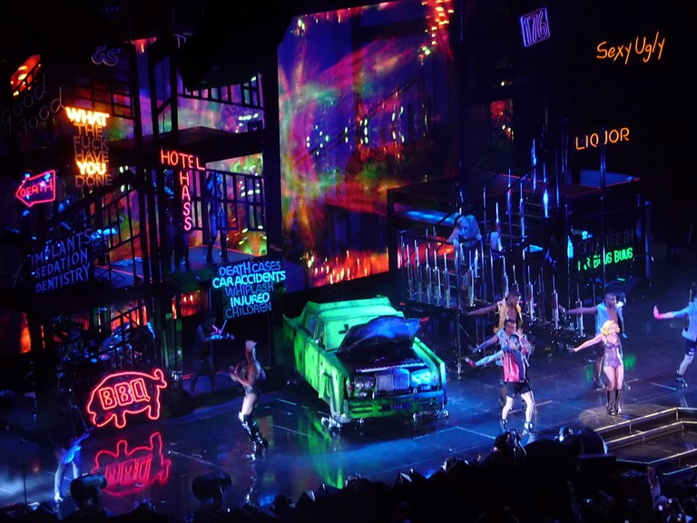 Lady Gaga's Monster Ball Tour with stage design by Es Devlin © Sricsi/WikiCommons