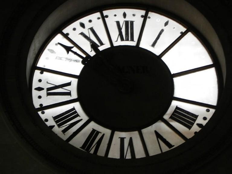 Pantheon Paris Clock