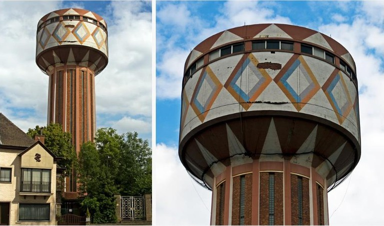 Water Tower of Gentbrugge| Courtesy of Ginnie Hart