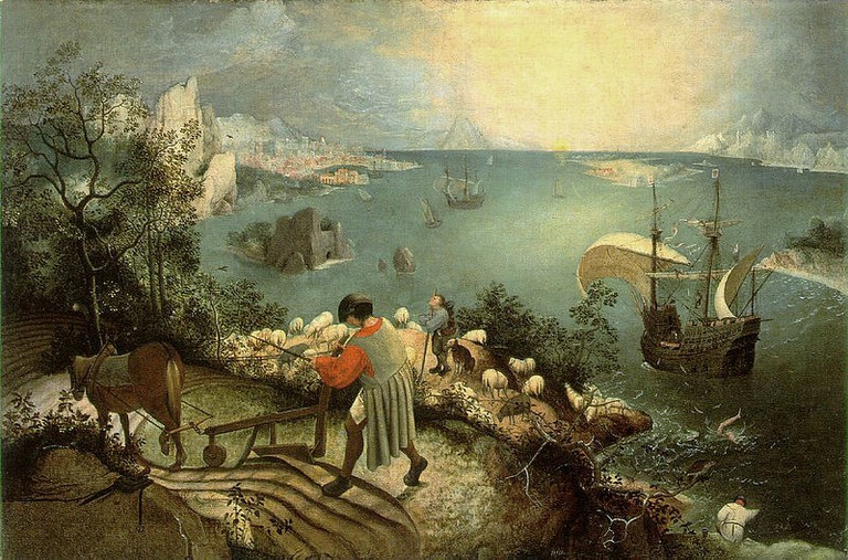 Pieter Bruegel the Elder - The Fall of Icarus | WikiCommons