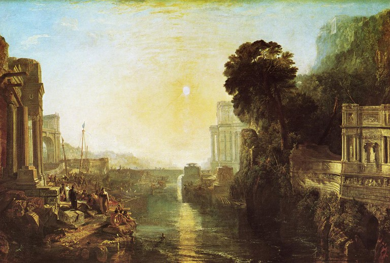 Dido Building Carthage, or The Rise of the Carthaginian Empire | © JMW Turner/WikiCommons