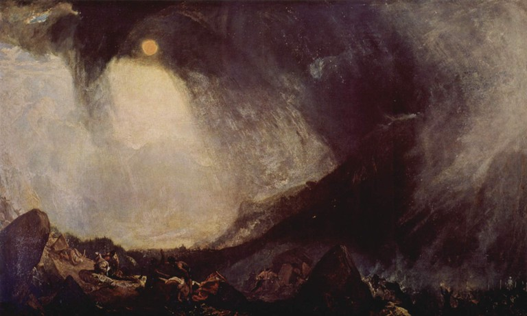 Snowstorm: Hannibal and his Men crossing the Alps | © JMW Turner/WikiCommons
