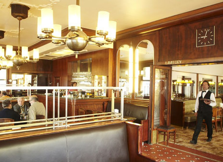 The belle epoque style of Brasserie du Parc | © Brasserie du Parc