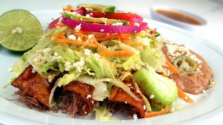 Mexican Enchilada |© Adoproducciones/ Pixabay