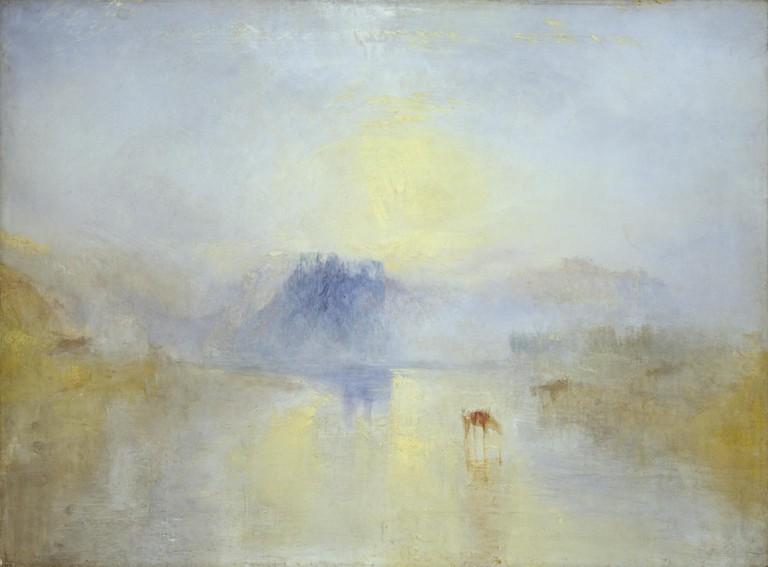 Norham Castle Sunrise | © JMW Turner/WikiCommons