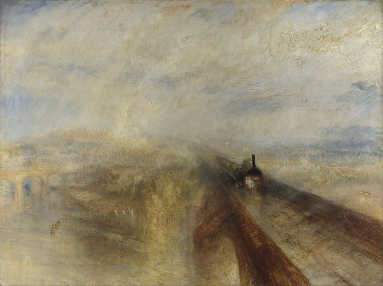 Rain, Steam and Speed – The Great Western Railway | © JMW Turner/WikiCommons