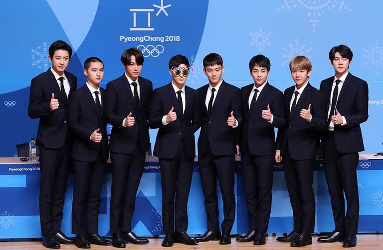 South Korean boy band EXO