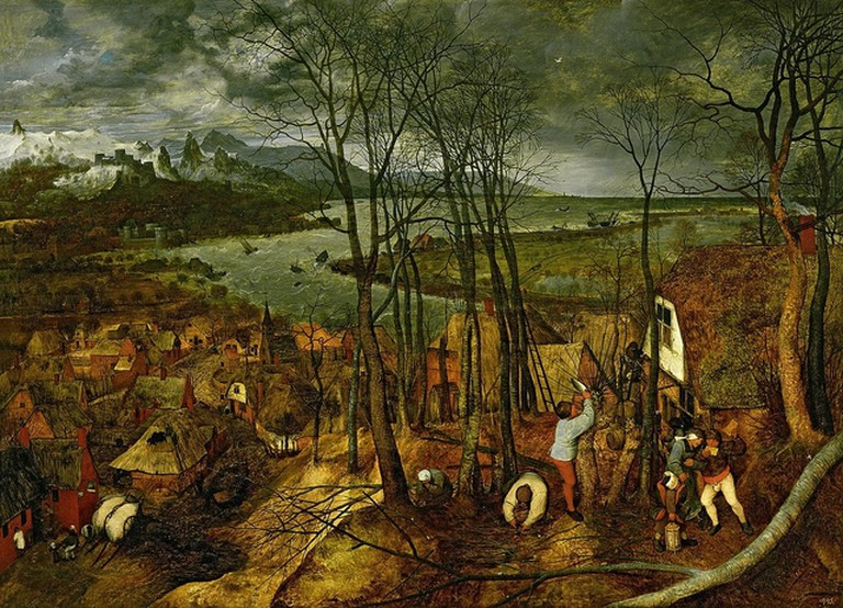 The Gloomy Day (Early Spring) by Pieter Bruegel | © Wikimedia Commons
