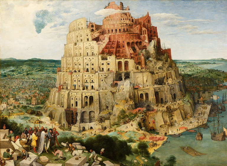 The Tower of Babel by Pieter Bruegel | © Wikimedia Commons