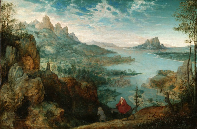 Landscape with the Flight Into Egypt by Pieter Bruegel | © Wikimedia Commons
