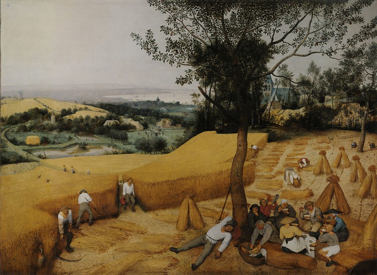 The Harvesters by Pieter Bruegel | © Wikimedia Commons