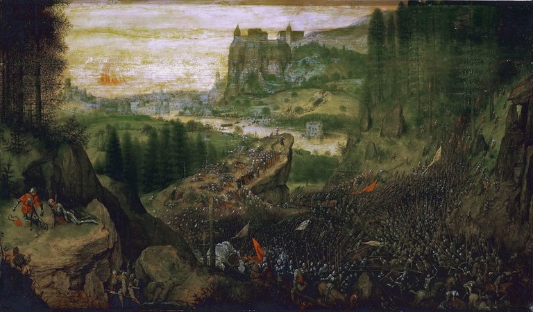 The Suicide of Saul by Pieter Bruegel | © Wikimedia Commons