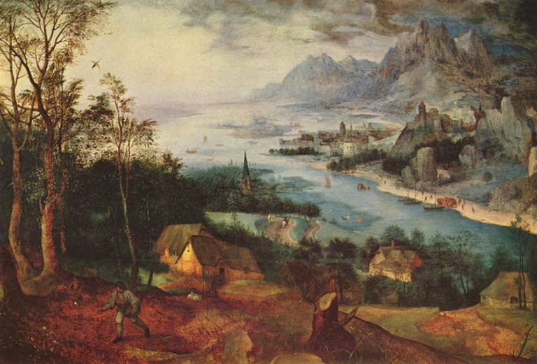 River Landscape with a Sower by Pieter Bruegel | © Wikimedia Commons