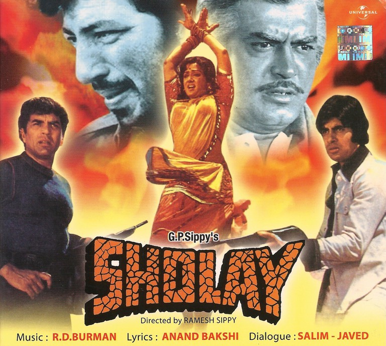 Sholay © United Productions/Sippy Films