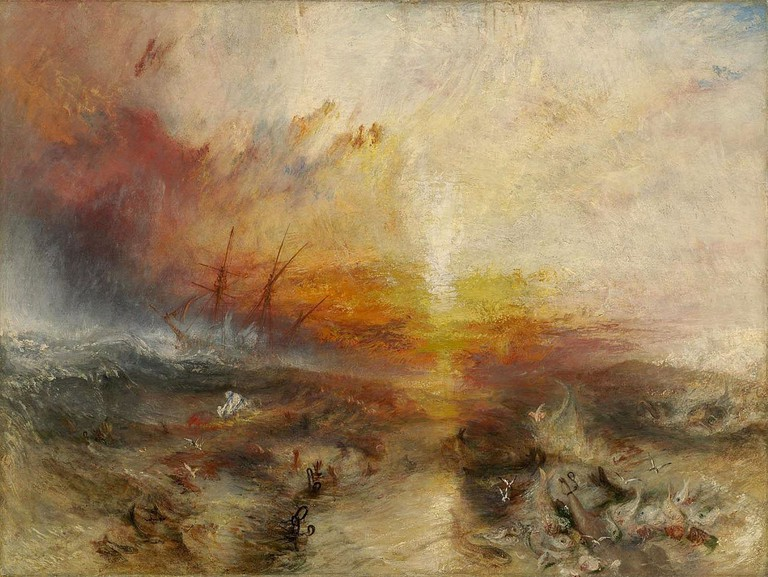 The Slave Ship | © JMW Turner/WikiCommons