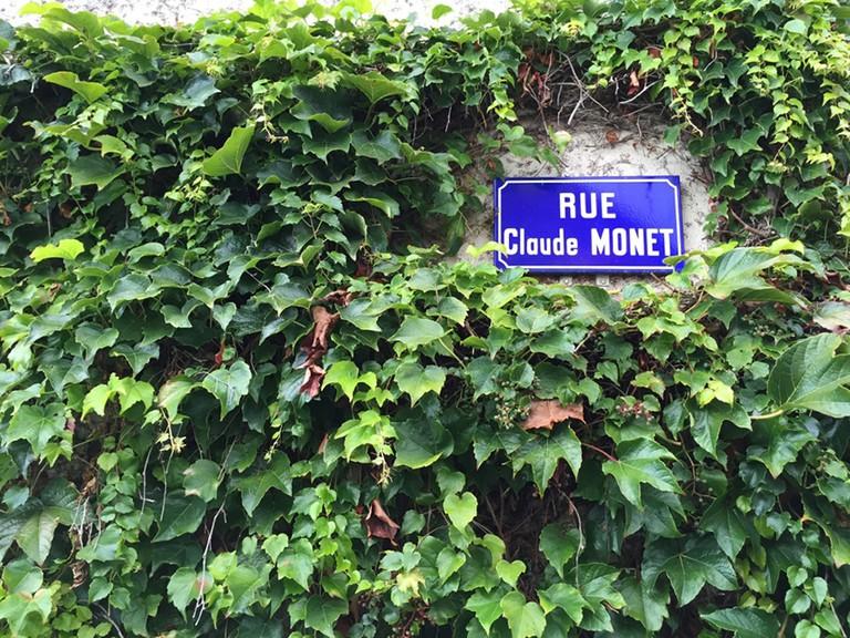 "The street ""Claude Monet"" | ©Beatriz Forti"