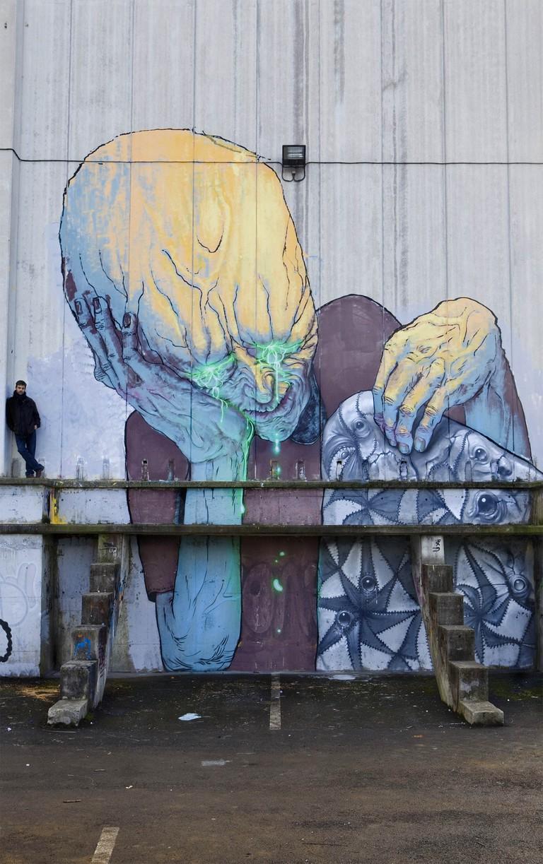 Mural by Enric Sant | Courtesy of Enric Sant
