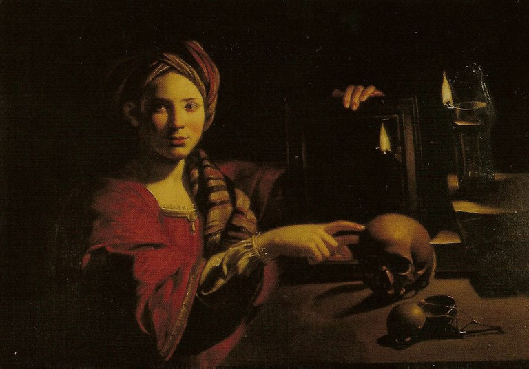 Figure 2, Allegory of Vanity by Triphome Bigot at the Galleria di Palazzo Barberini, Rome, c.1595-60
