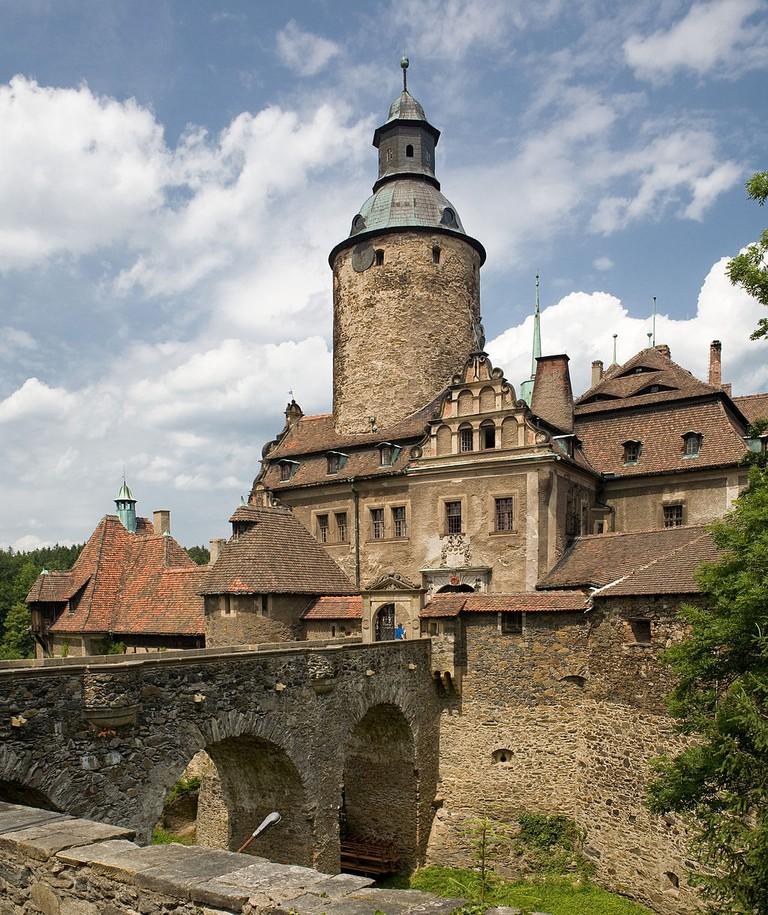 Czocha (Tzschocha) Castle, Lusatia, Poland