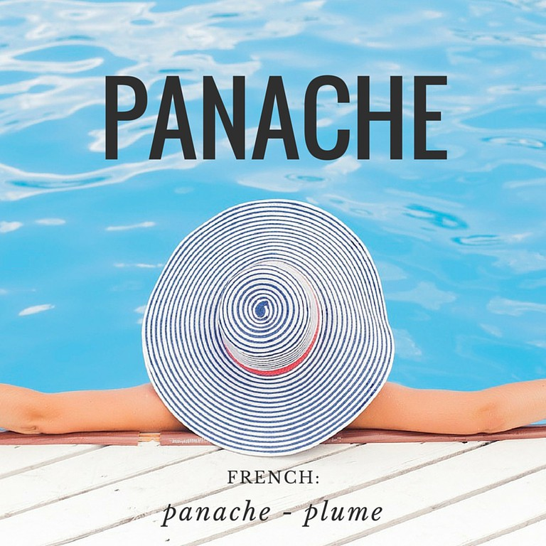 Panache | French Word