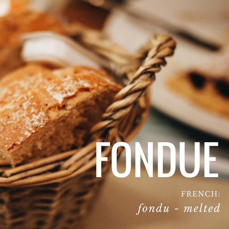 Fondue | French Word