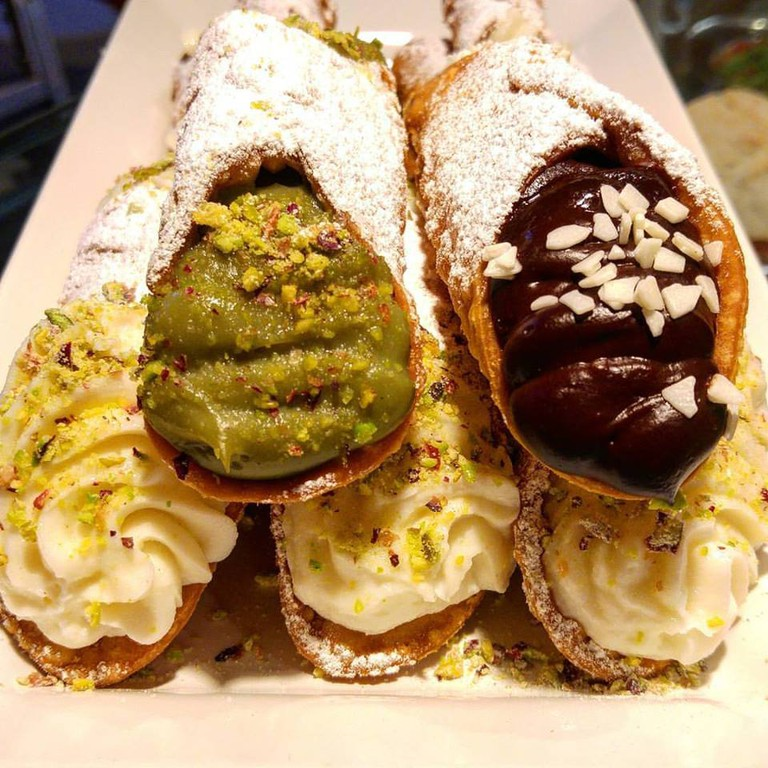 The typical sicilian cannoli are one of the speciality of Etnacoffee | Courtesy of Etnacoffee Facebook