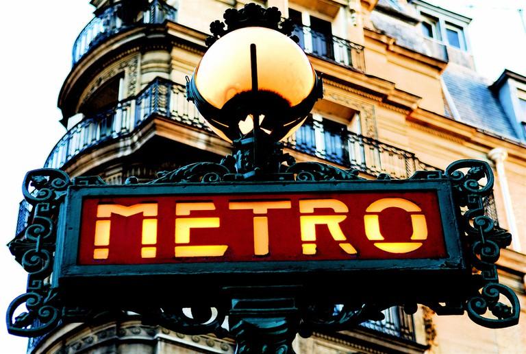 Paris Metro | © Pedro Ribeiro Simões/Flickr