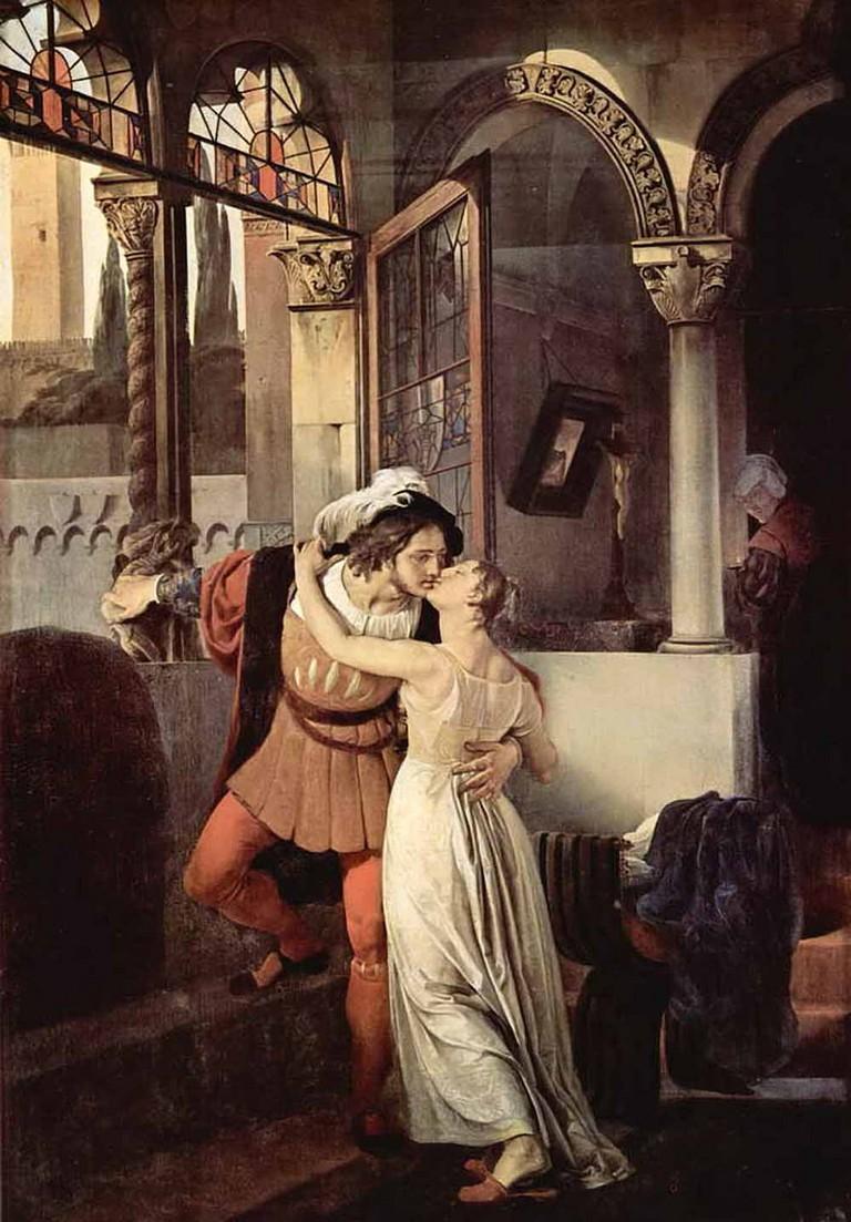 Francesco Hayez - Romeo and Juliet © Irina