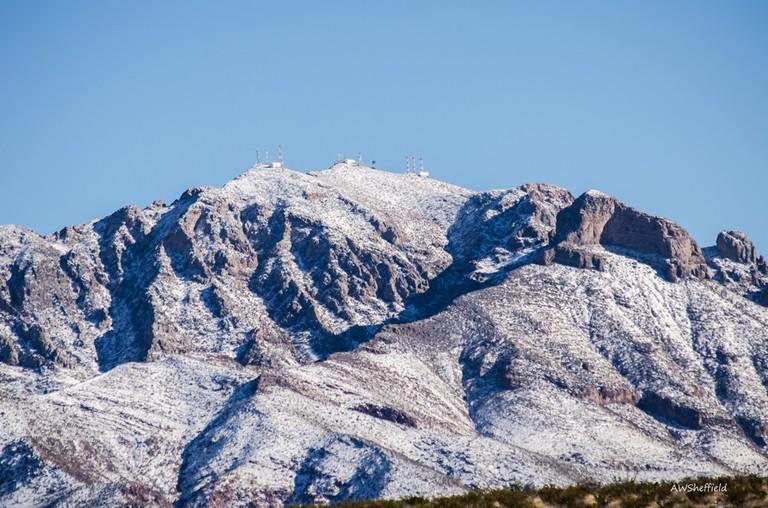 Franklin Mountains | © Allen Sheffield/Flickr