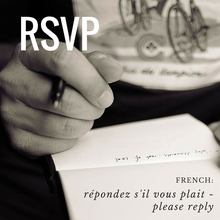 RSVP | French Word