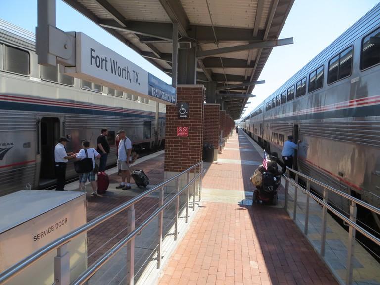 Ft. Worth Amtrak | © David Wilson/Flickr