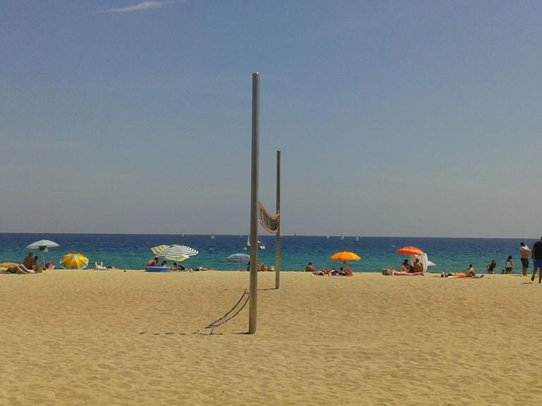 Summer Colors, Bcn, Beach | Courtesy of Elena Isaeva