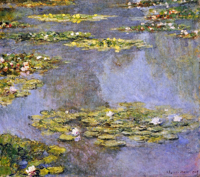 Water lillies, 1905