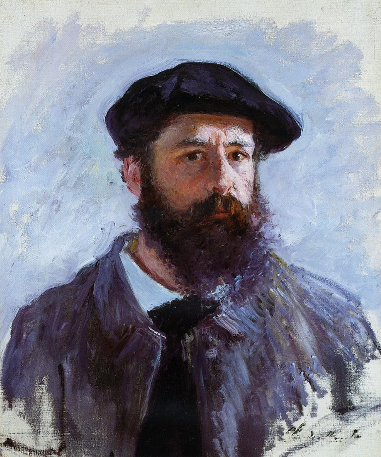Self portrait with beret 1886