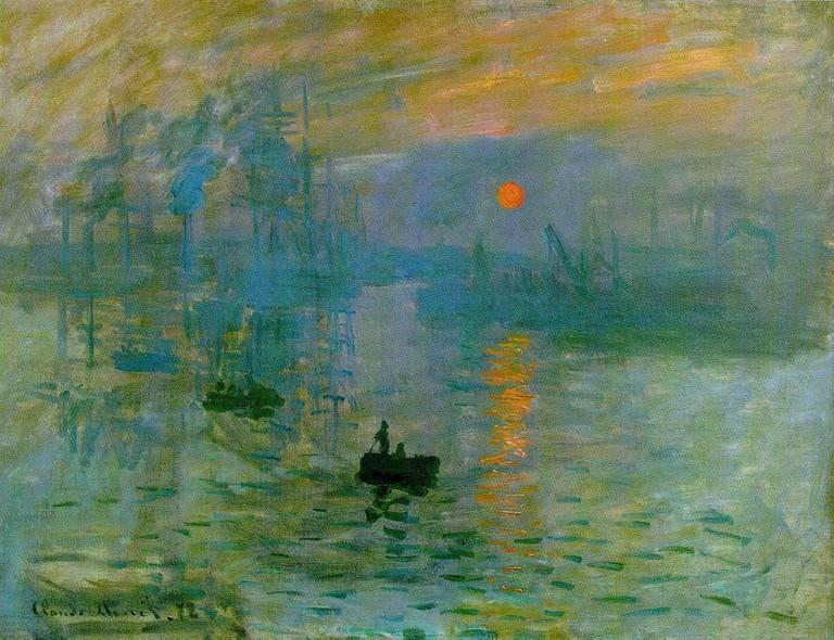 Impression Sunrise, 1872
