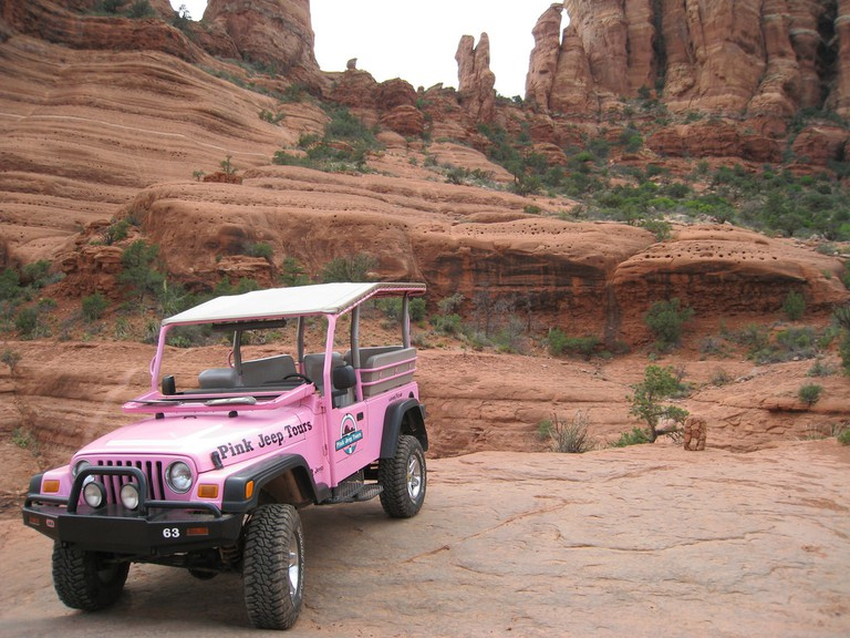 Pink Jeep Tours | © mroach/Flickr