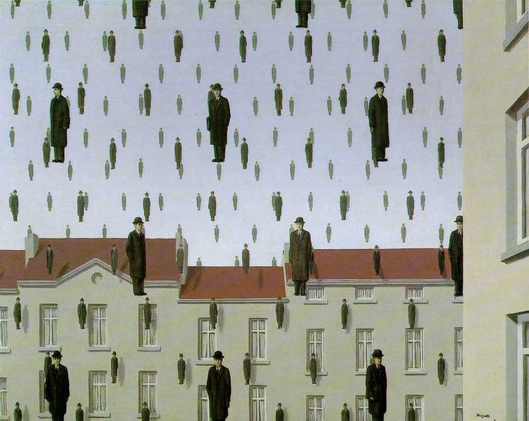 Golconda by René Magritte | © Ian Burt/Flickr