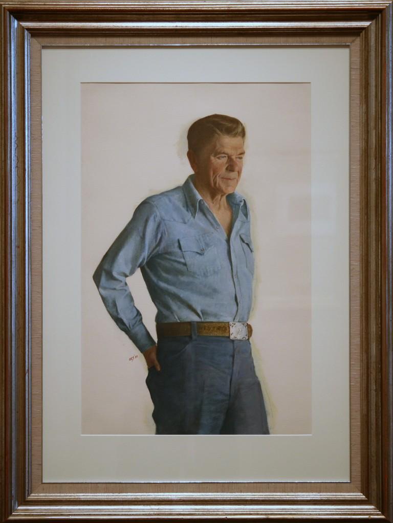 Ronald Wilson Reagan, Fortieth President (1981-1989) | © Cliff/Flickr
