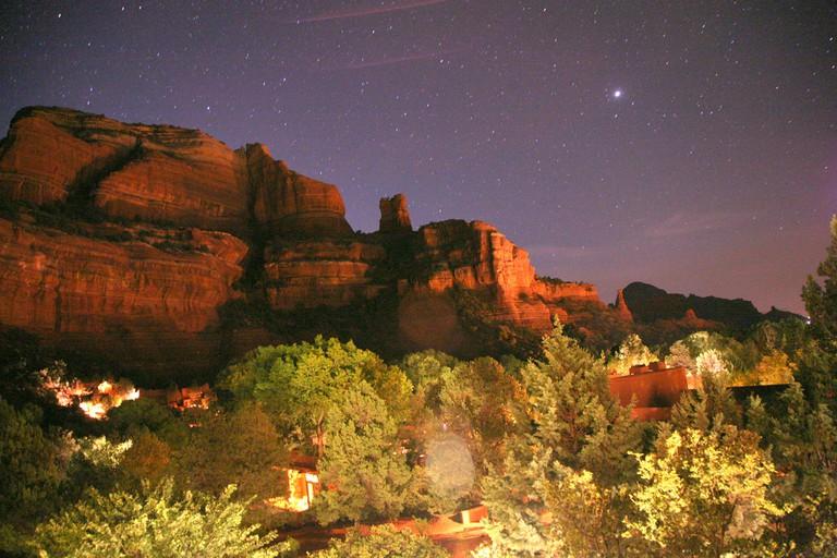 Sedona at night | © ryan harvey/Flickr