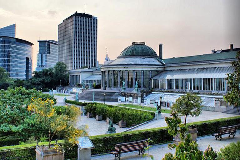 The Brussels Botanical Garden