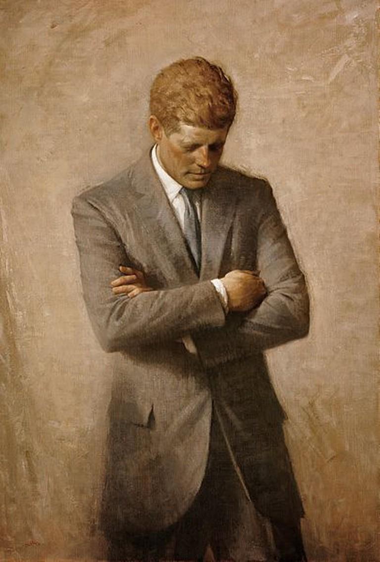 John Fitzgerald Kennedy | © The White House Historical Association/Aaron Shikler