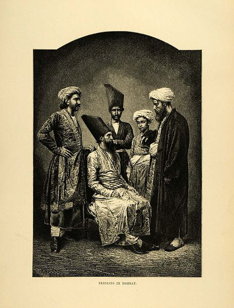 Parsis in Bombay 1878