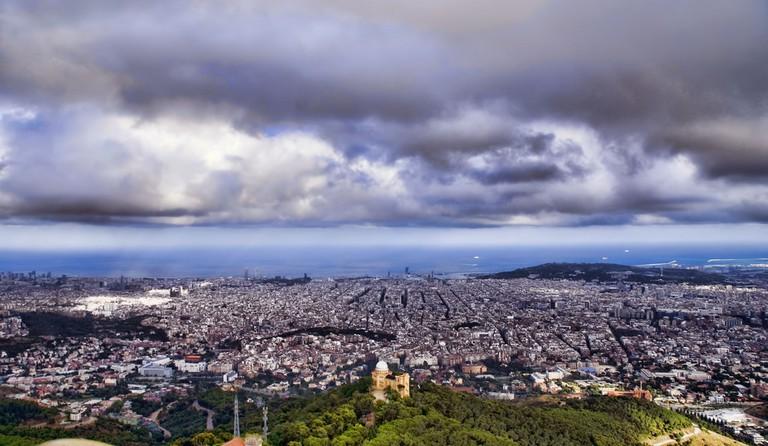 B A R C E L O N A Vista des del Tibidabo | © Noemí Galera/Flickr