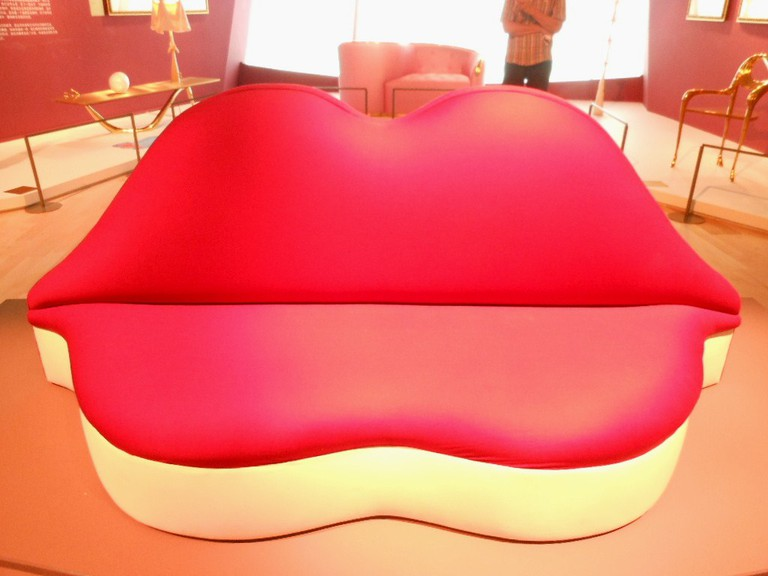 The Mae West Lips sofa | © Michael Coghlan/Flickr