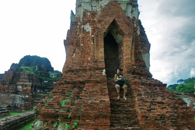 Ayutthaya Ruins in Thailand